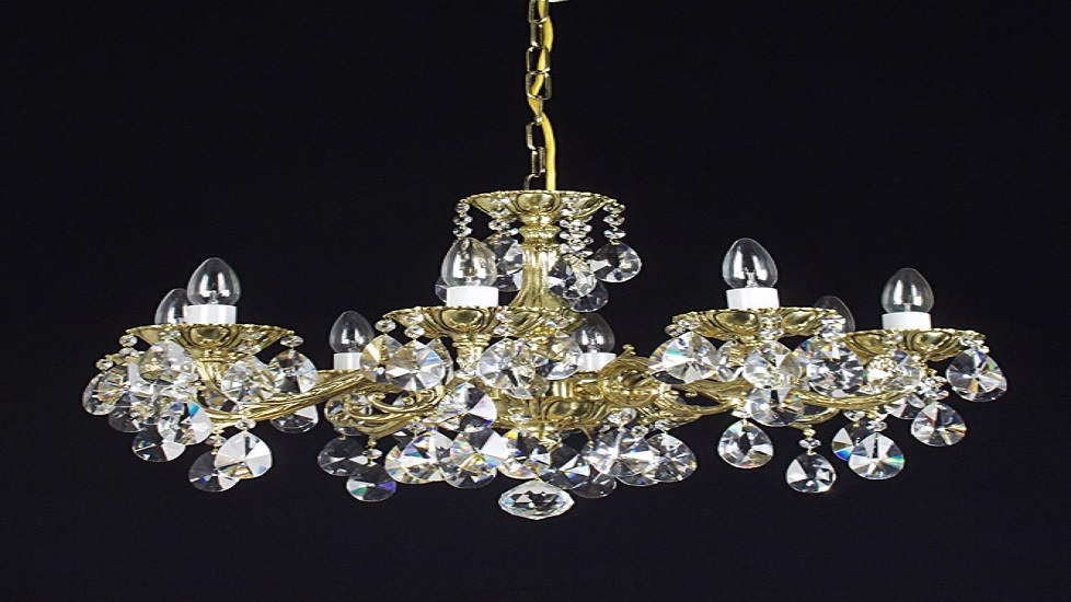 Cast and Brass Chandeliers