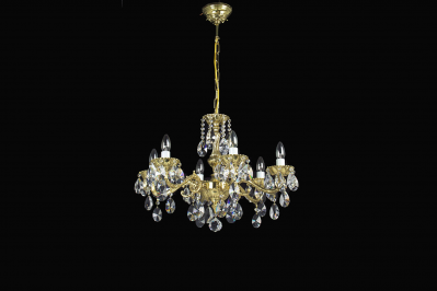 Crystal Cast Chandelier 10600-06
